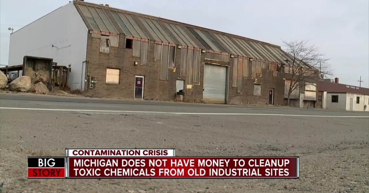 Michigan Does NOT Have money to clean up Toxic Chemicals.