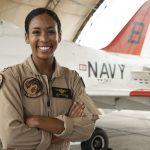 LTJG Madeline Swegle, U.S. Navy's first Black female tactical jet aviator